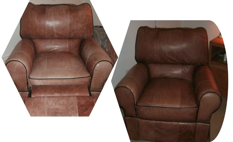 DENVER LEATHER CLEANING COMPANY - LEATHER RESTORATION BEFORE AND ...