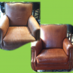 Vail Colorado. Private Residence Leather Restoration by Denver Leather Cleaning
