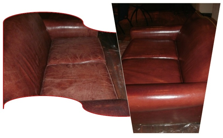 denver leather cleaning company leather restoration before and