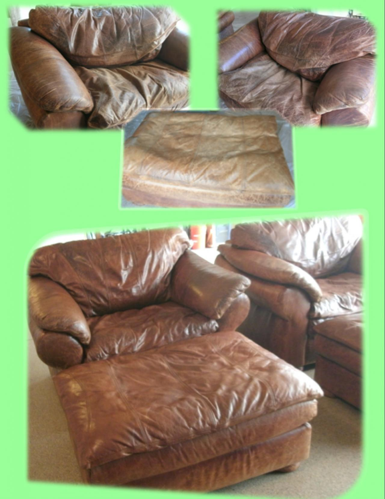 Homemade Leather Furniture Conditioner #36: Inexpensive And Effective Homemade Leather Cleaner Recipe Diy. Image Led Clean A Leather Sofa ...